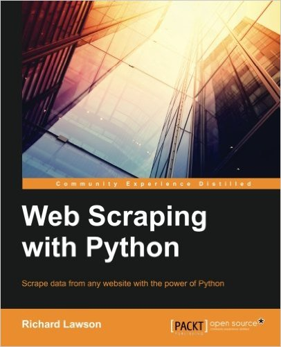 Book Review: Web Scraping with Python · Todd Hayton